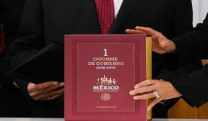 Disponible en internet el primer informe de AMLO