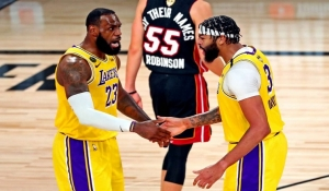 Lakers pegan primero en la final